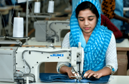 Click to See the - Factory Photography for Stark Apparels Garments Factory Bangladesh