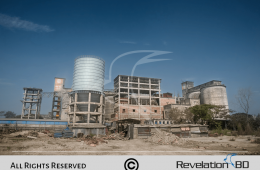 Factory Photography for Five Rings Cement Factory Building Bangladesh