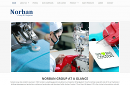 Home Page Design - Professional Web Design and Development Project by Revelation BD for NORBAN Group