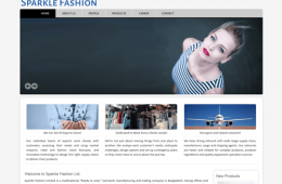 Best Garments Buying House Website Design and Development Project by Revelation BD in Bangladesh for Sparkle Fashion Ltd